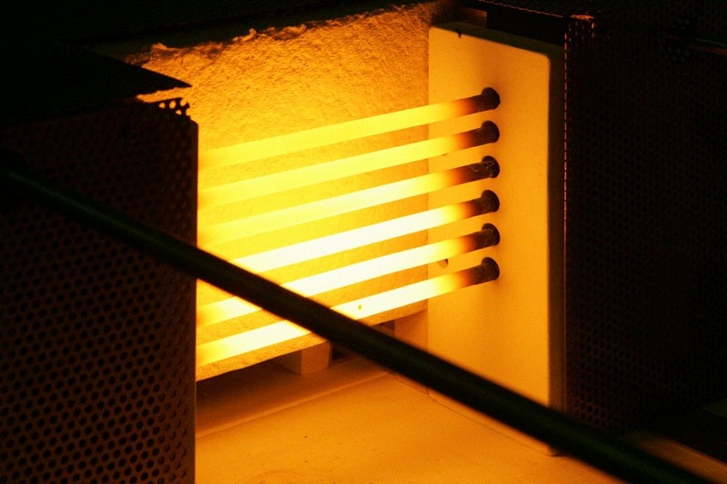 Sioen - A radiant heat system is shown